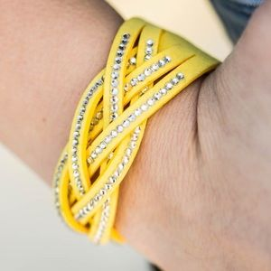 ✨Glitter Patrol Yellow Bracelet